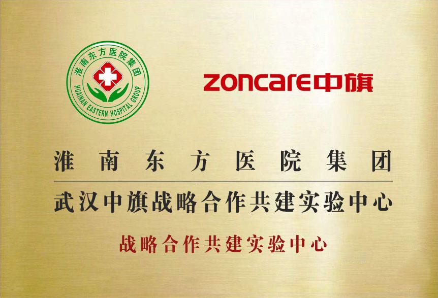 淮南东方医院集团武汉中旗战略合作共建实验中心